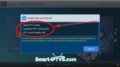 Duplex-iptv-notification-IPTV