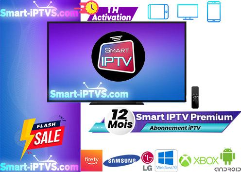 Smart iPTV - abonnement Smart iPTV