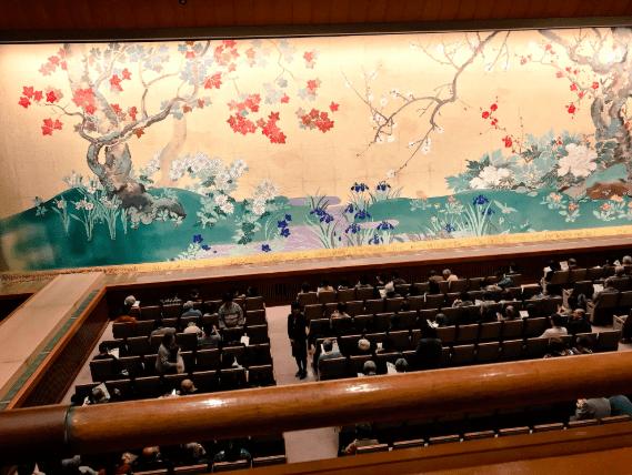 2階席の見え方の画像