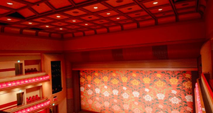 3階席からの見え方の画像