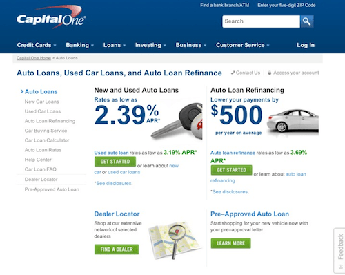 Capital one auto finance payoff number