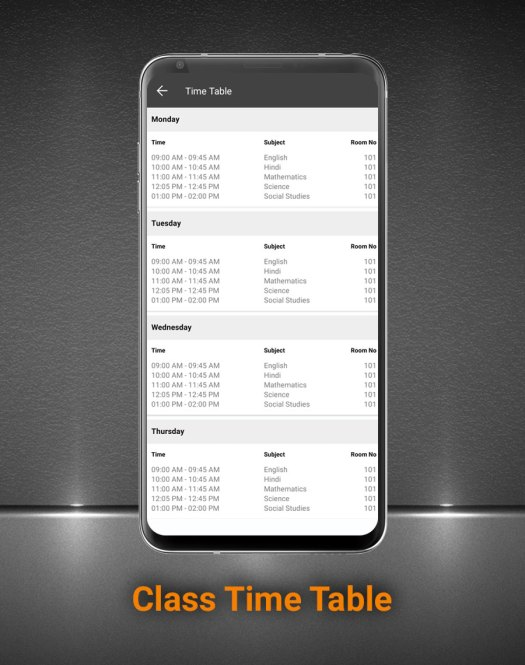 Smart School Android App - Mobile Application for Smart School - 12