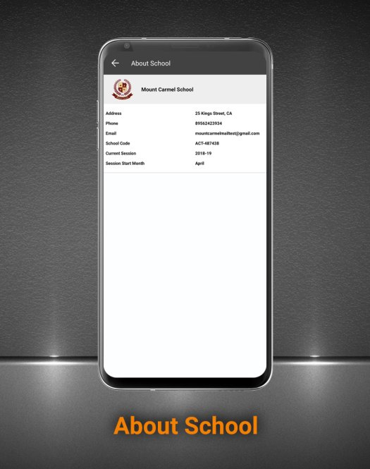 Smart School Android App - Mobile Application for Smart School - 24