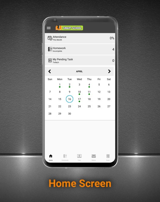 Smart School Android App - Mobile Application for Smart School - 3
