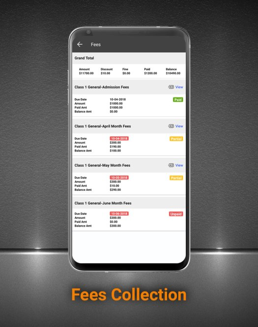 Smart School Android App - Mobile Application for Smart School - 8