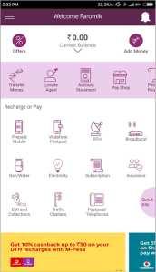 M-Pesa app