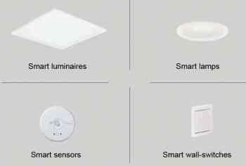 Smart lighting components - Philips Lighting InterAct series