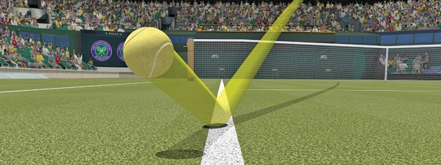 In-shot technology being used in tennis