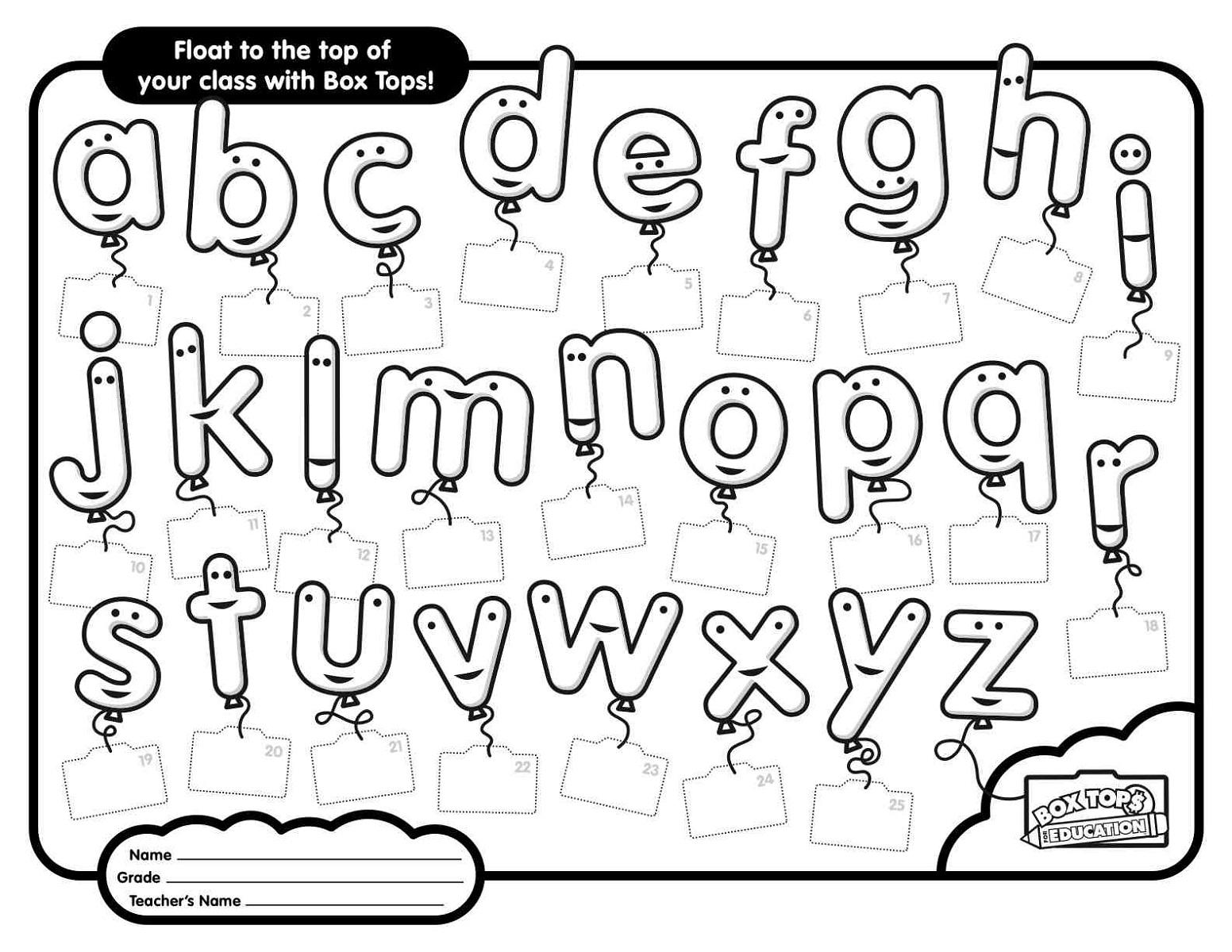 Abc Worksheets Pdf