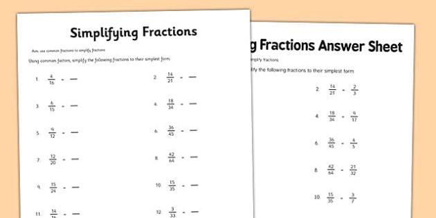 Math Worksheets For Grade 6 Multiplying Fractions