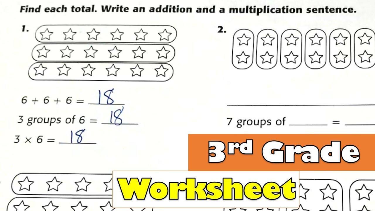 Multiplication Intro Worksheets 1