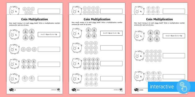 Multiplication Worksheets 2nd Grade Printables