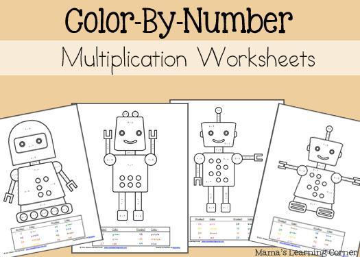 Multiplication Worksheets By Number 1