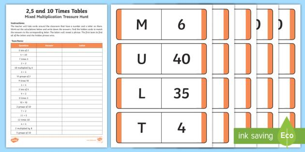 Multiplication Worksheets Mixed Times Tables 6