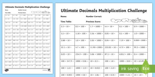 Multiplying Decimals Worksheets Pdf Common Core