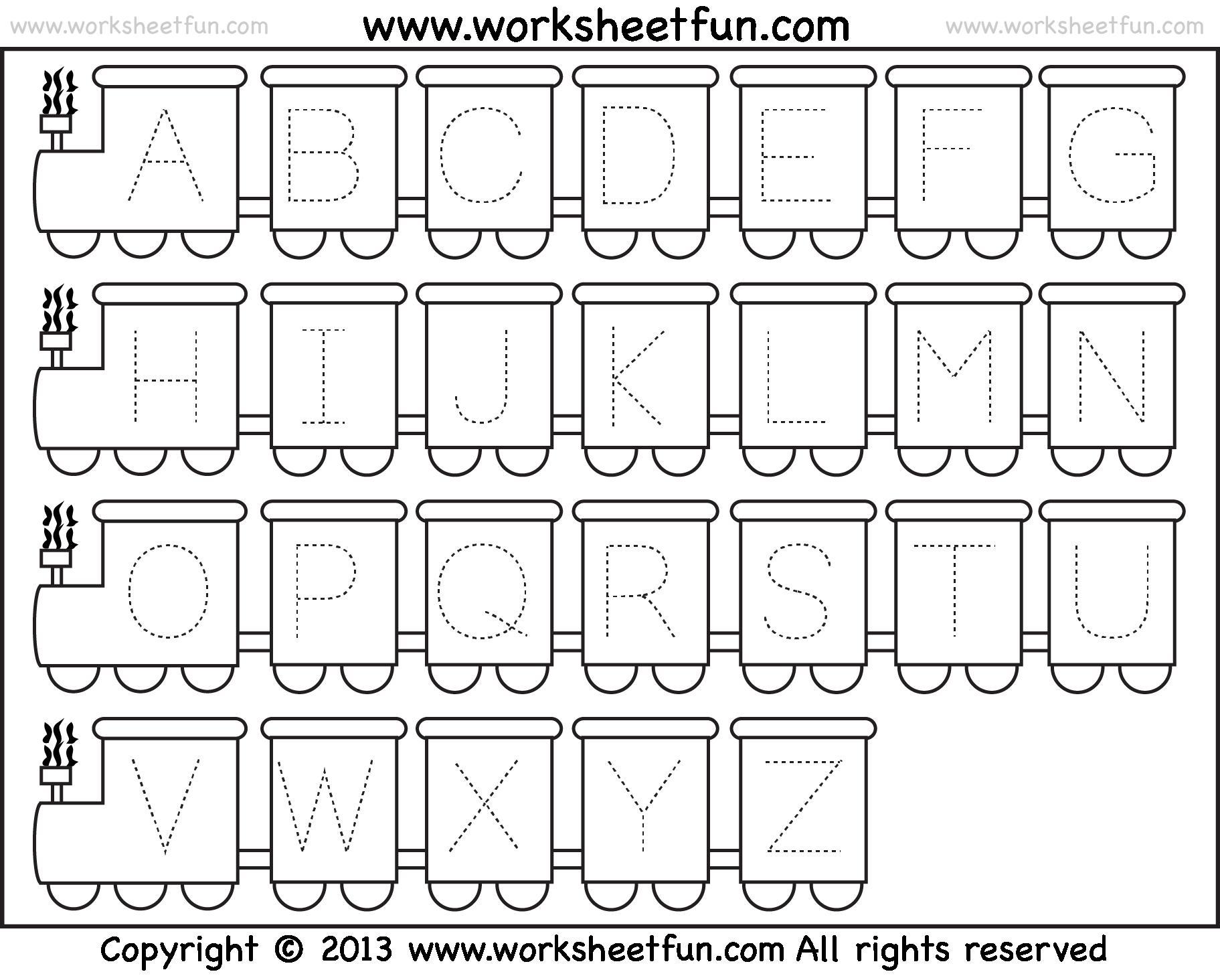 Free Printable Preschool Worksheets Letters