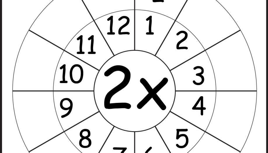 Multiplication Worksheets Random Order 12