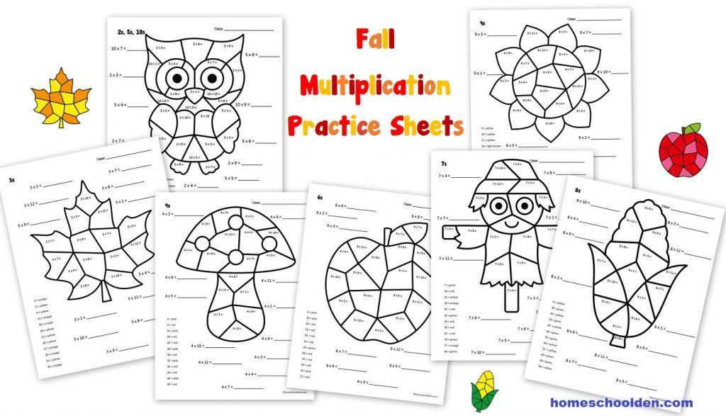 Multiplication Worksheets Year 2