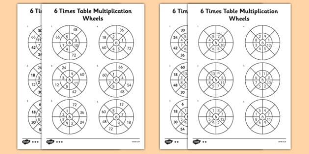 Multiplication Worksheets Year 6