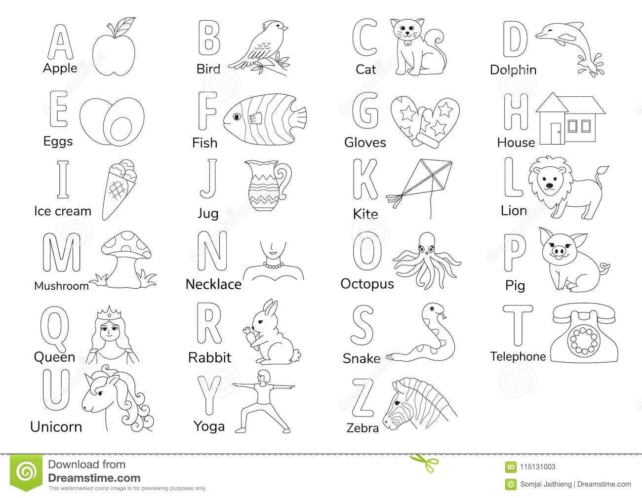 Preschool English Worksheet Pdf