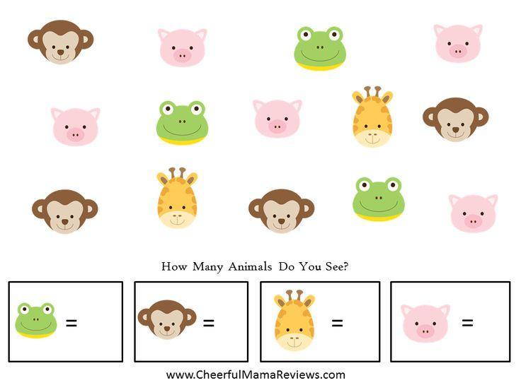 Preschool Jungle Worksheets 1
