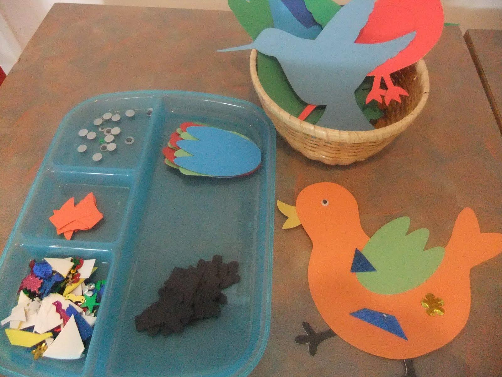 Preschool Worksheets Birds 6