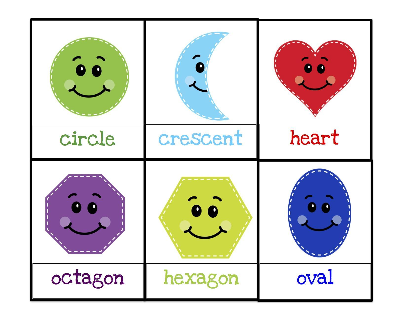 Preschool Worksheets Shapes 1