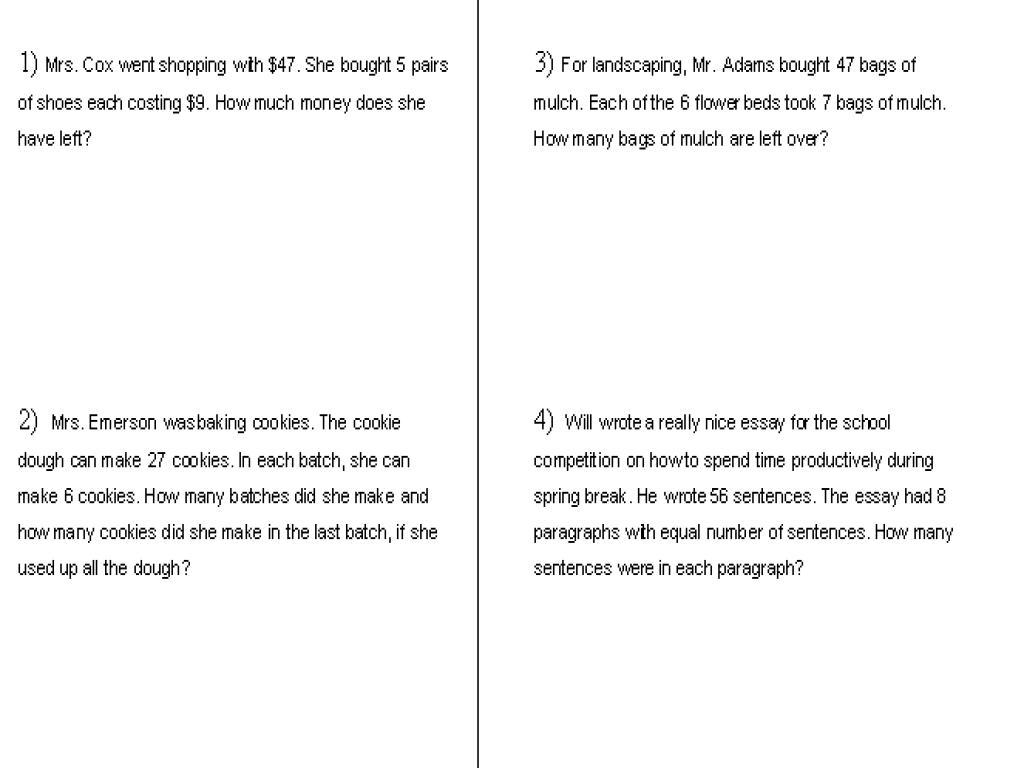 Printable Multiplication Worksheets Grade 5 Pdf