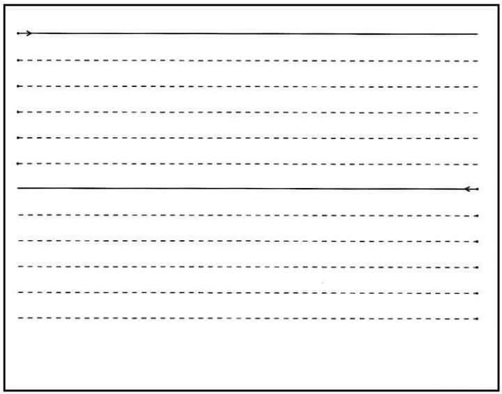 Printable Preschool Handwriting Worksheets