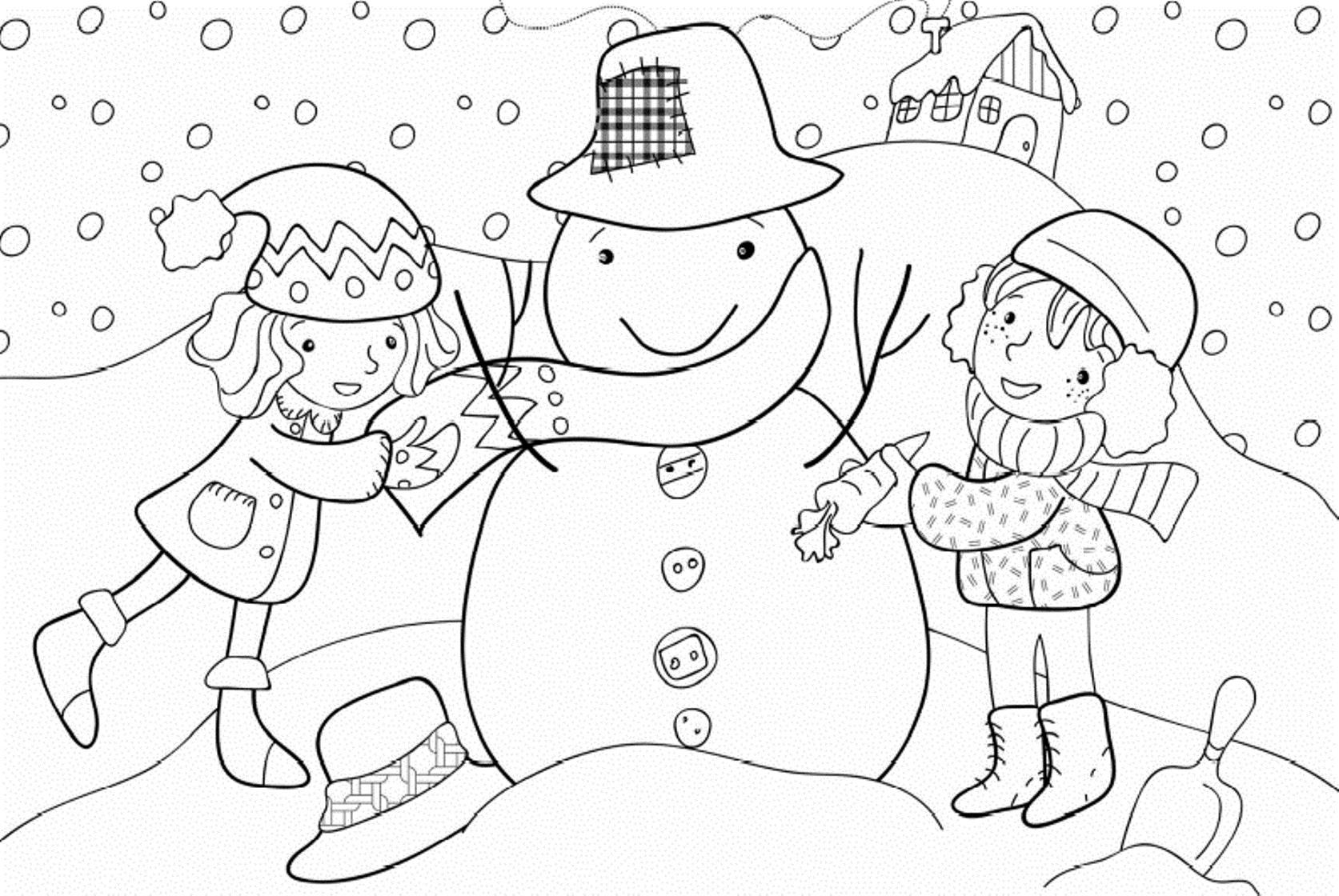 Free Preschool Winter Math Worksheets