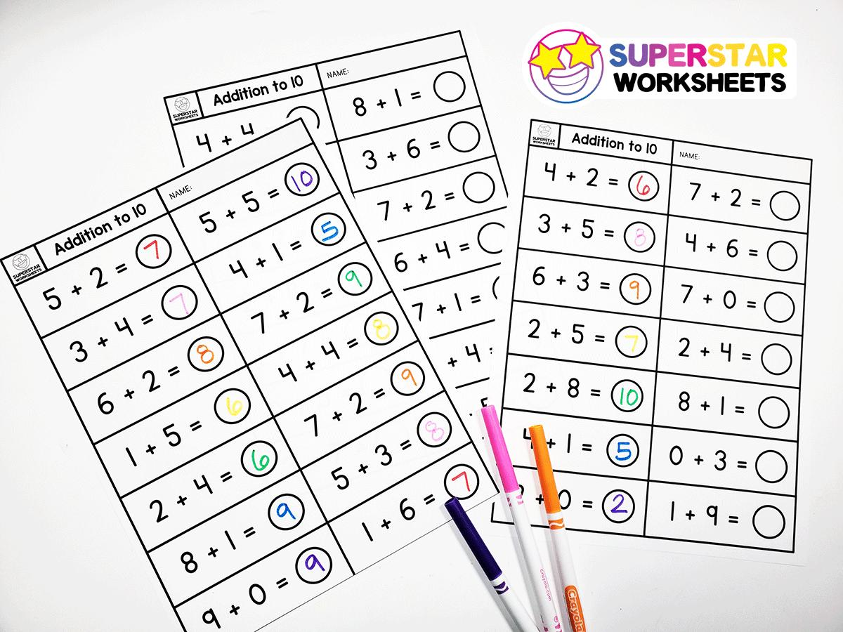 Math Worksheets Addition With Regrouping