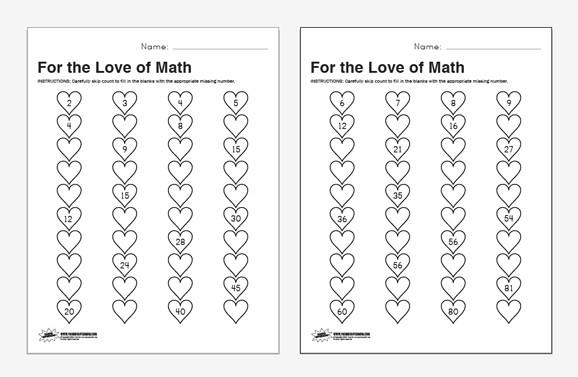Math Worksheets Counting To 1000