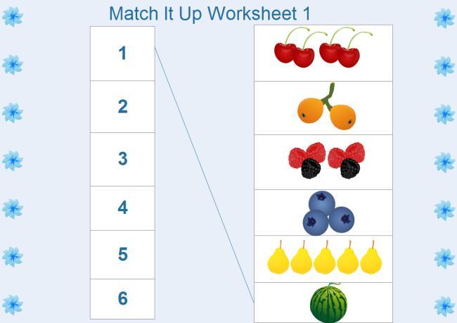 Math Worksheets For Kindergarten 1