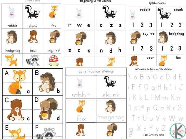 Preschool Matching Worksheets Free