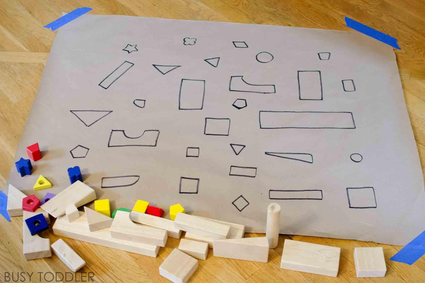 Preschool Worksheet Matching