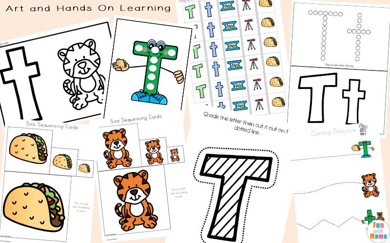 Preschool Worksheets For The Letter A