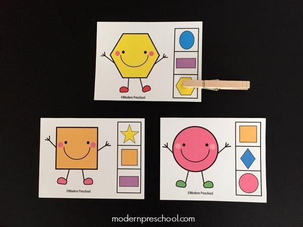 Preschool Worksheets Matching Objects 8
