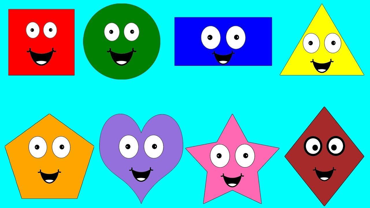Preschool Worksheets Shapes And Colors 3