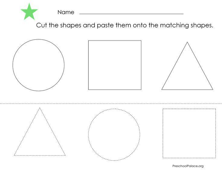 Preschool Worksheets Shapes And Colors 6