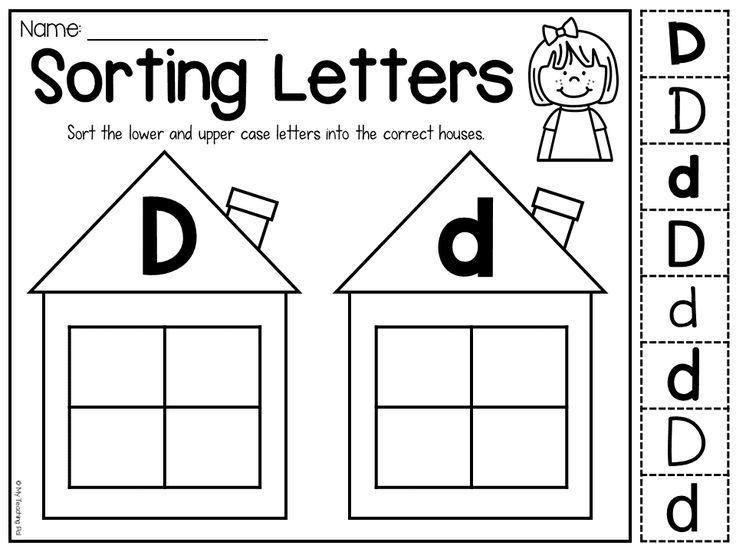Upper And Lowercase Preschool Worksheets 5