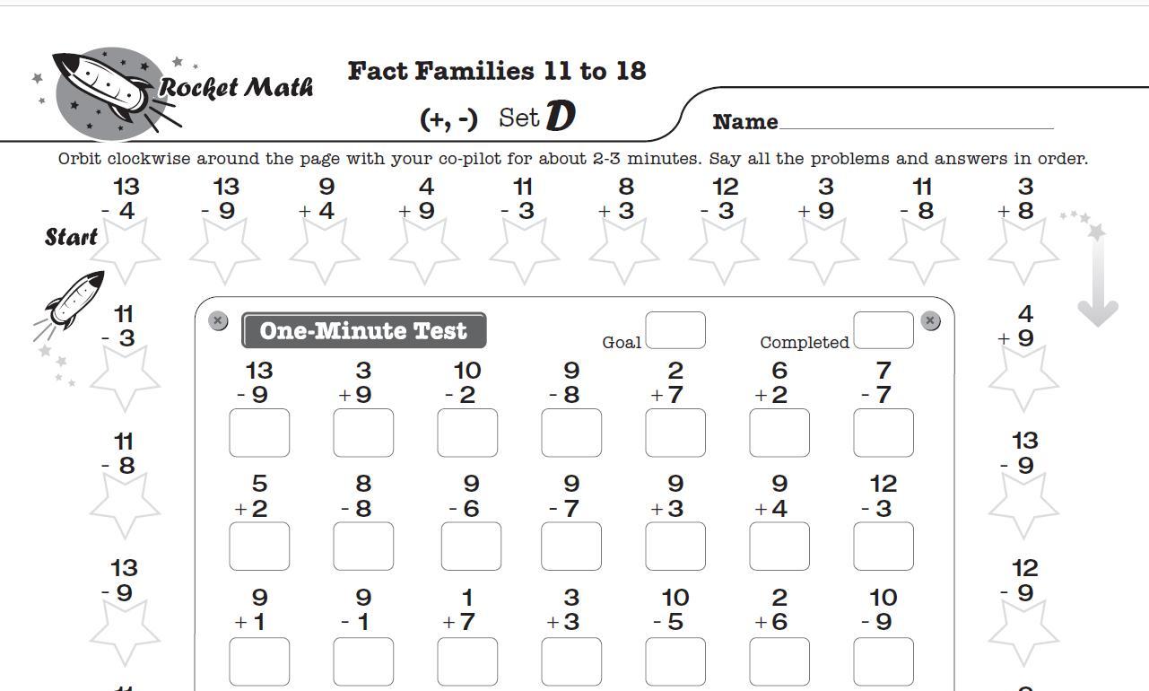 1st Grade Math Worksheets Images