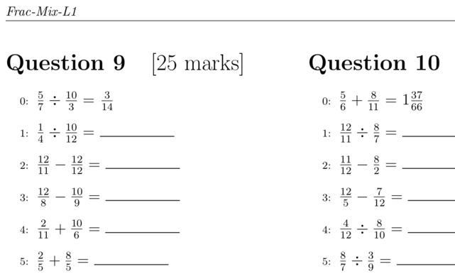 Math Practice Worksheets Algebra 1