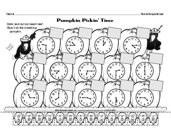 Math Time Worksheets Grade 4