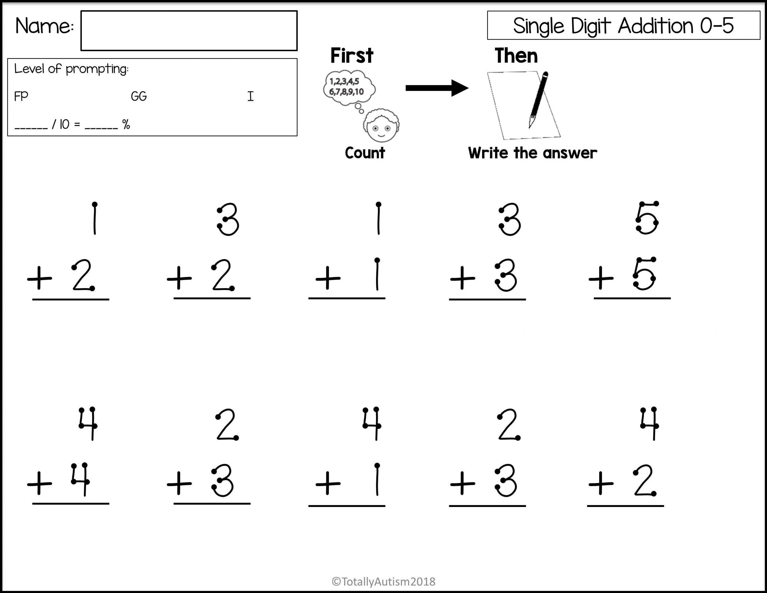 Math Worksheets For Kinder Pdf