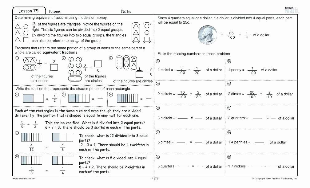 Math Worksheets K5 2