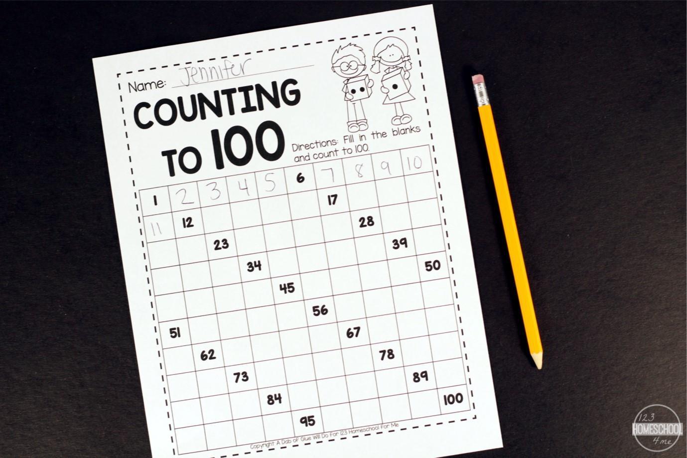 Math Worksheets To Print 1