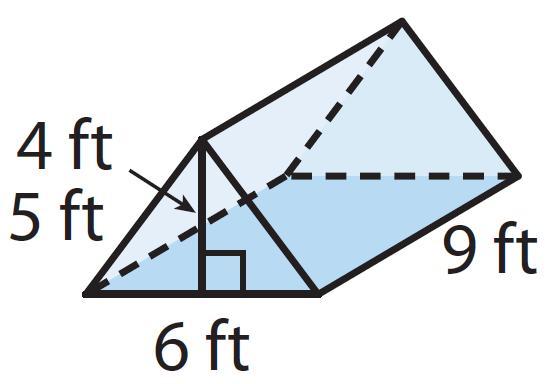 Math Worksheets Volume Of Triangular Prism 2