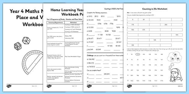 Math Worksheets Year 4 Pdf