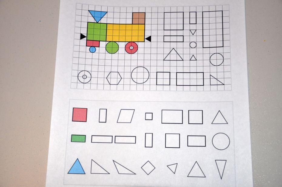 Printable Math Worksheets For Reception