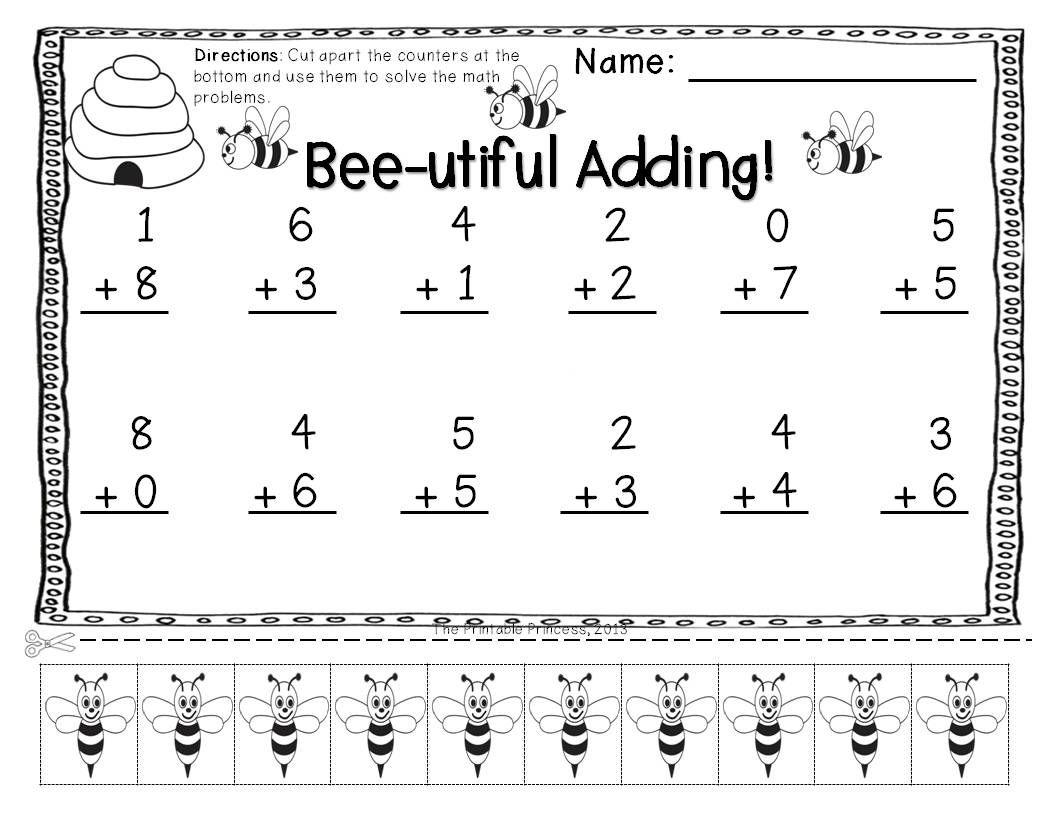 Simple Algebra Addition And Subtraction Worksheets